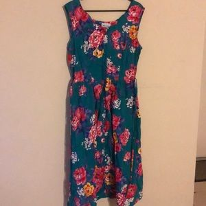 ModCloth size 16 floral swing dress